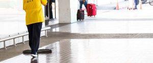 Limpieza de aeropuertos